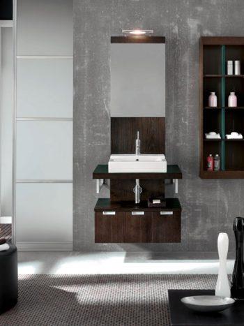 шкаф с огледало No. 1106 - 700x520x1800 - 836